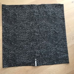 Lululemon vinyasa scarf black marble new